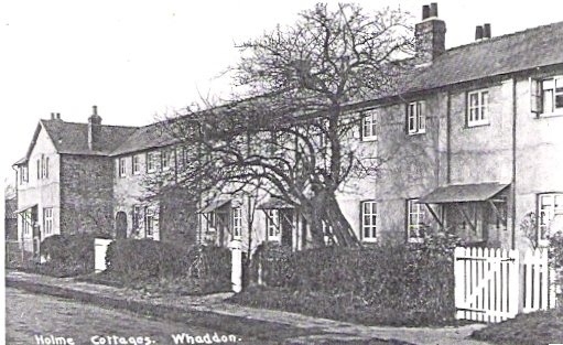 Whaddon Home Cottages before 1935