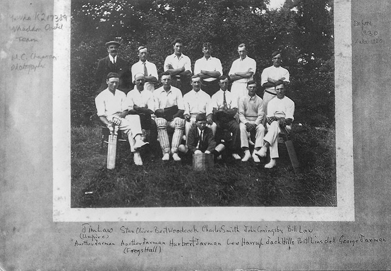 Whaddon cricket archive 1