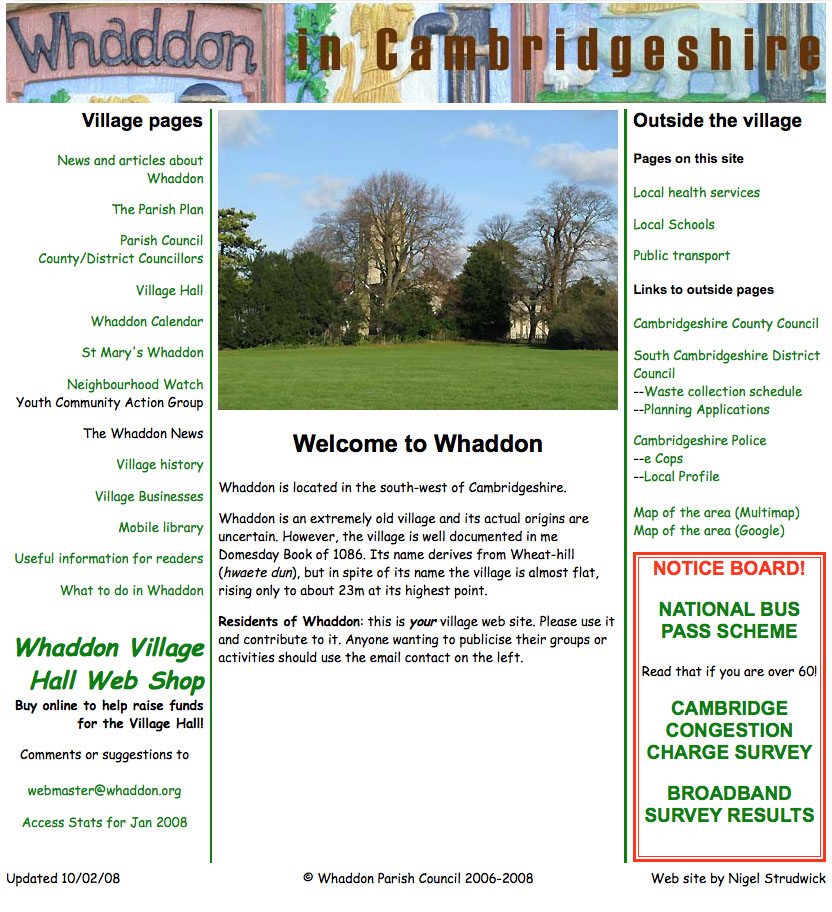 Image of Whaddon 2006 site