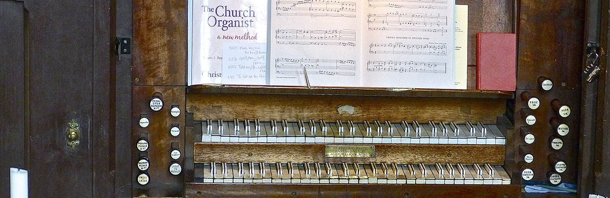 Whaddon St Marys Church Organ