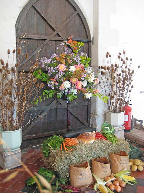Whaddon St Marys Church Harvest 2014 3