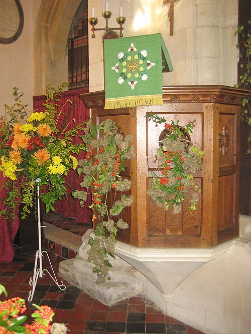 Whaddon St Marys Church Harvest 2014 4