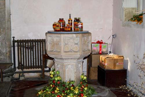 Whaddon St Marys Church Harvest 2015 1