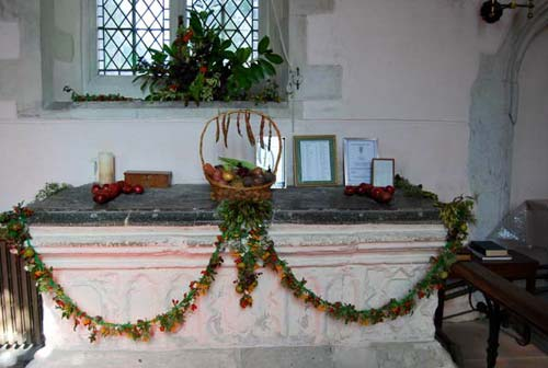 Whaddon St Marys Church Harvest 2015 5