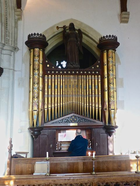 Whaddon St Marys Church Organ 1