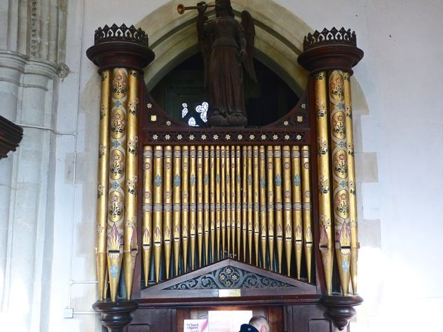 Whaddon St Marys Church Organ 2