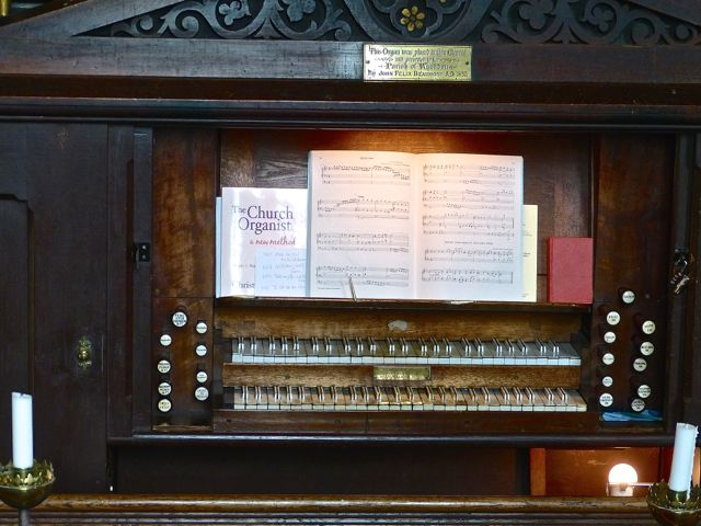 Whaddon St Marys Church Organ 7
